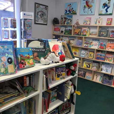 Image: Children's room at the community bookstore